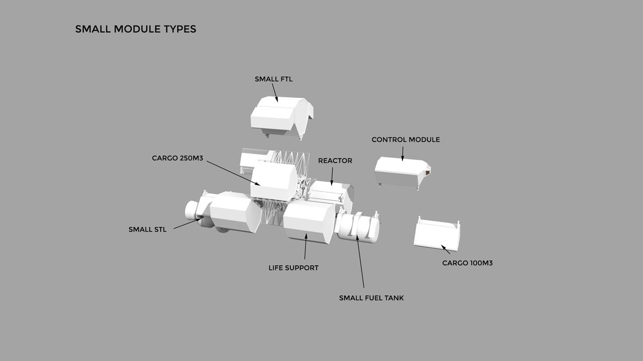 Modular Ships